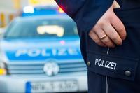 Ein Polizist mit Streifenwagen � Picture-Factory - Fotolia.com